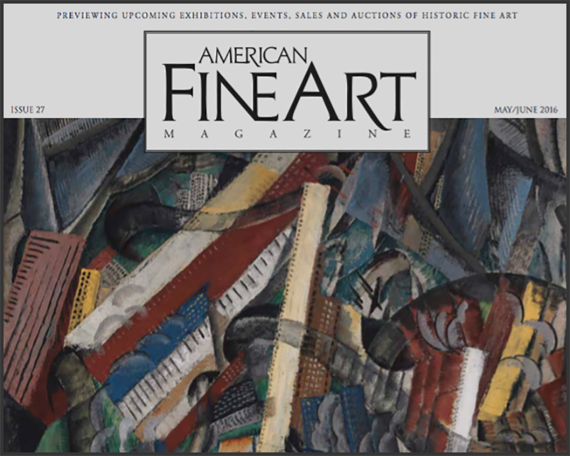 """Emerging"" Receives a Book Review in ""American Fine Art"" Magazine"
