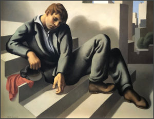 ruth miller kempster, oil painting, working man, female artist, crocker museum, emerging from the shadows book
